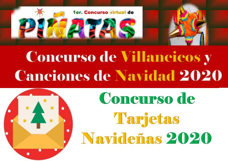 Concursos Navideños y Posada Virtual 2020