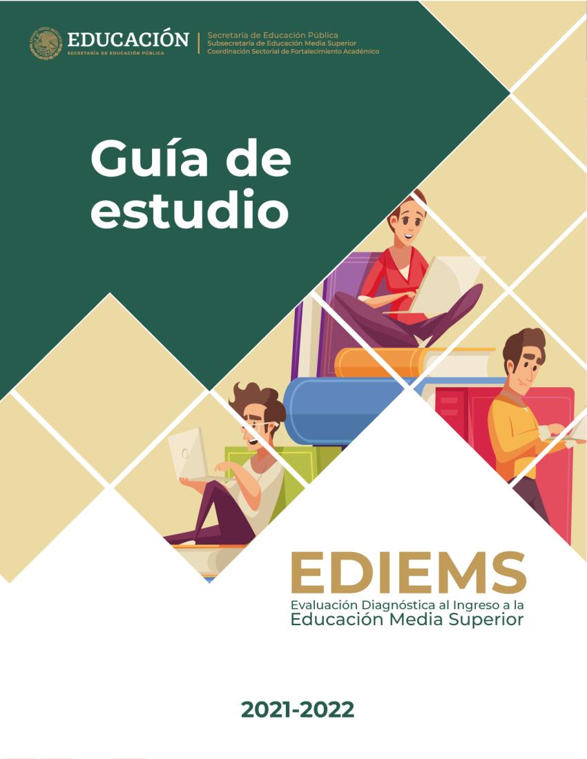 GUÍA DE ESTUDIO NUEVO INGRESO 2021-2022