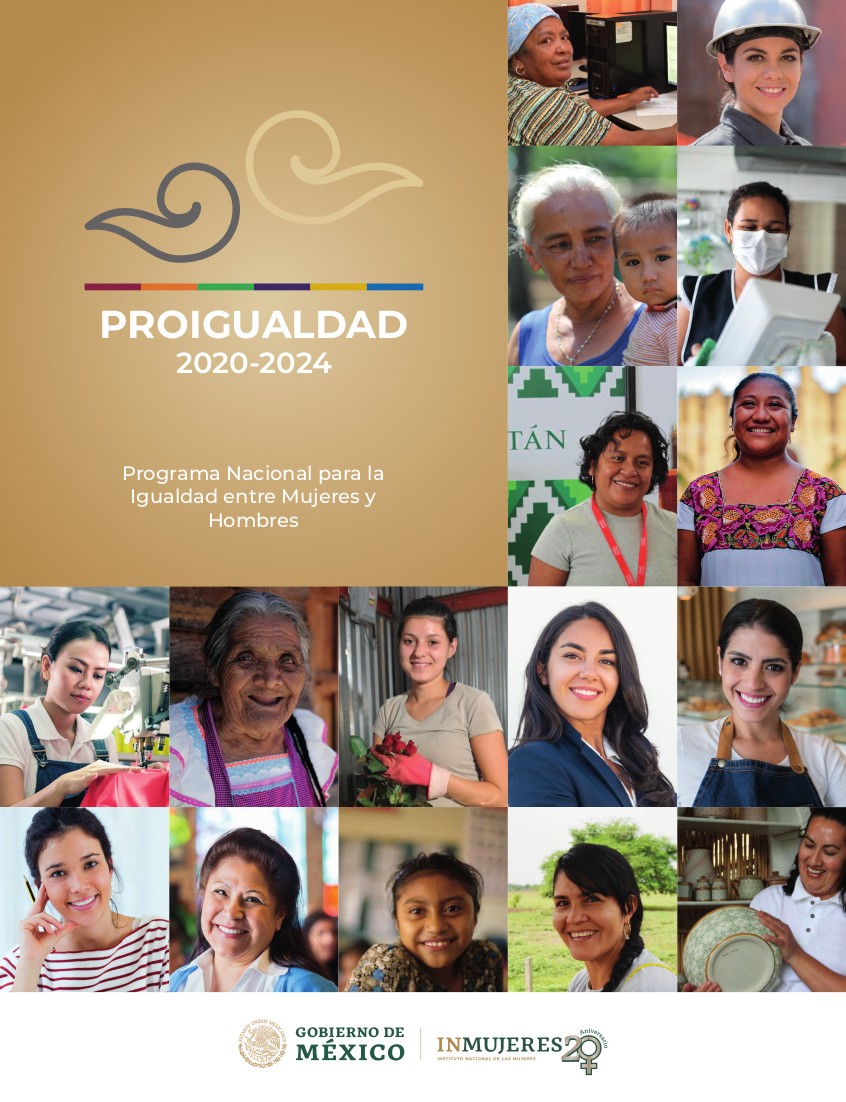 Programa Nacional para la Igualdad entre Mujeres y Hombres 2020-2024