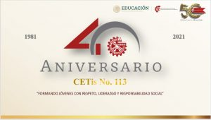 40 Aniversario CETis 113